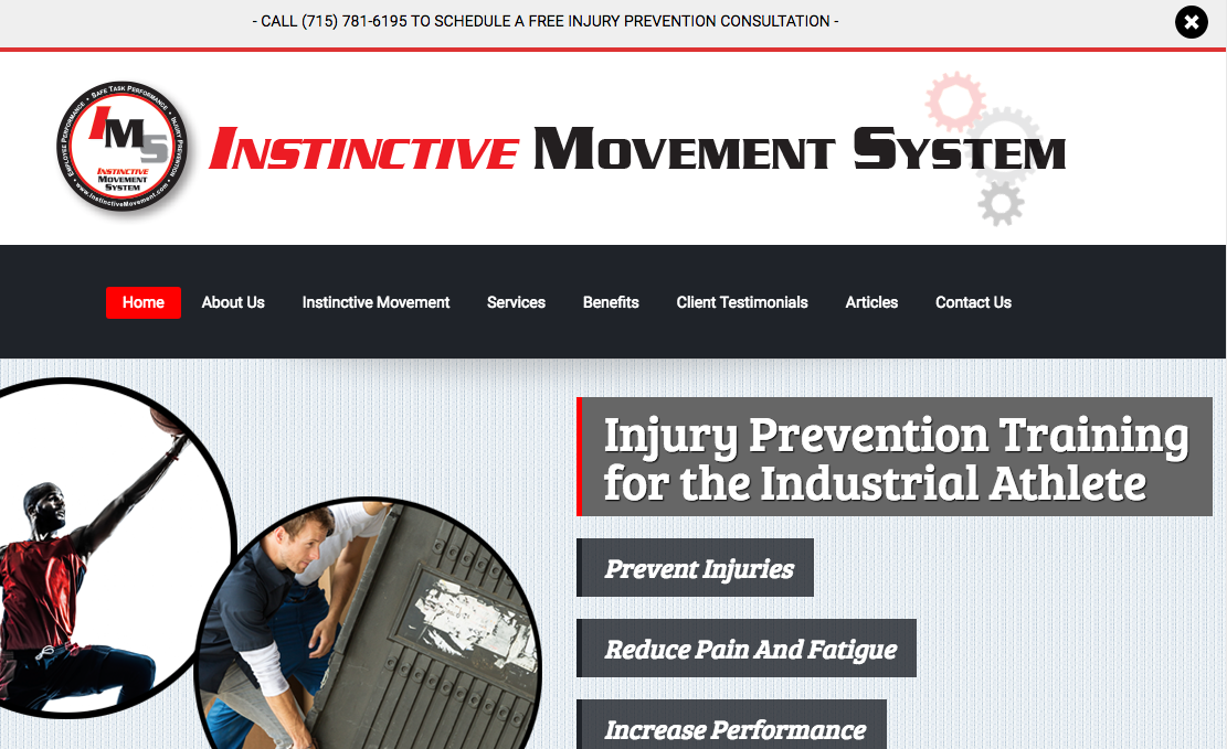 Instinctive Movement System website